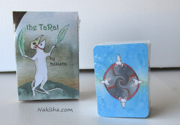 Rat tarot Cards, the TaRat by Nakisha